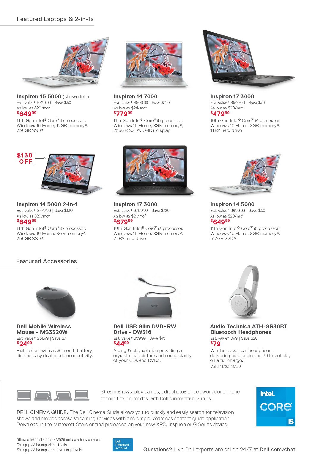 Dell Black Friday 2020 Page 11