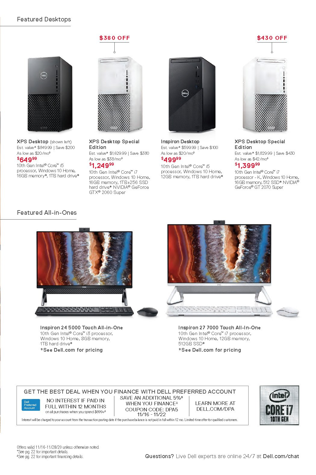 Dell Black Friday 2020 Page 13