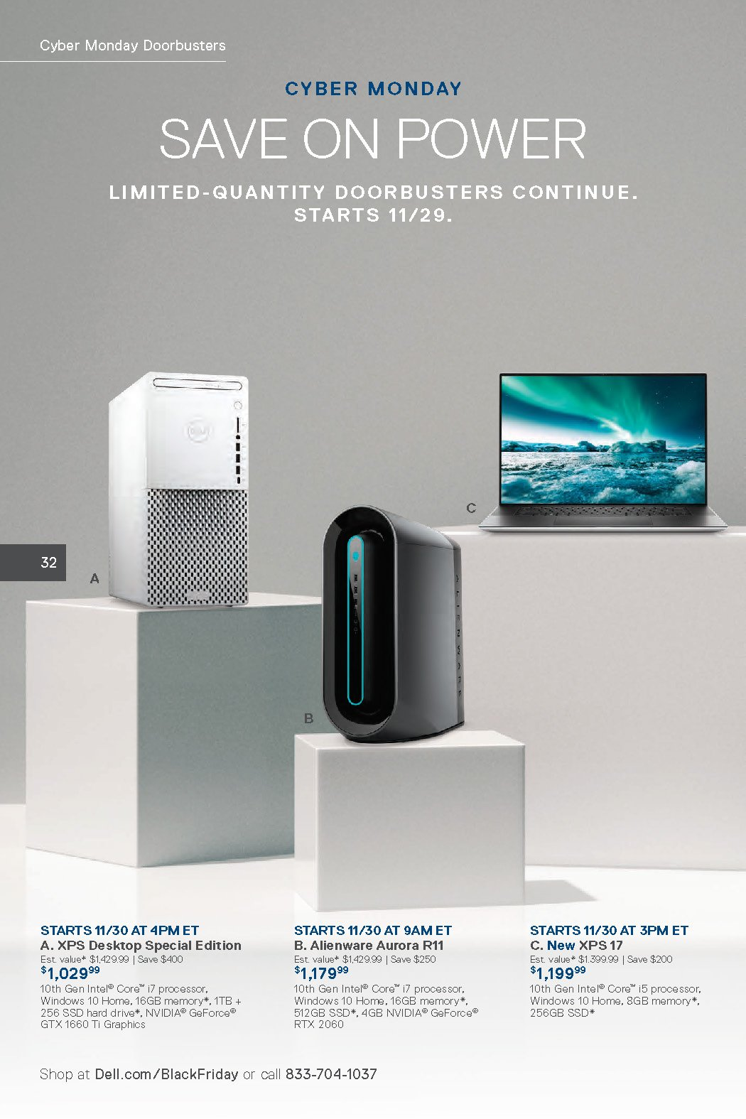 Dell Black Friday 2020 Page 32