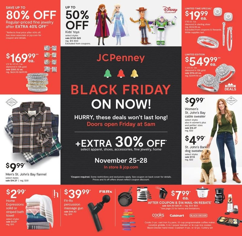 JCPenney Black Friday 2020 Page 1