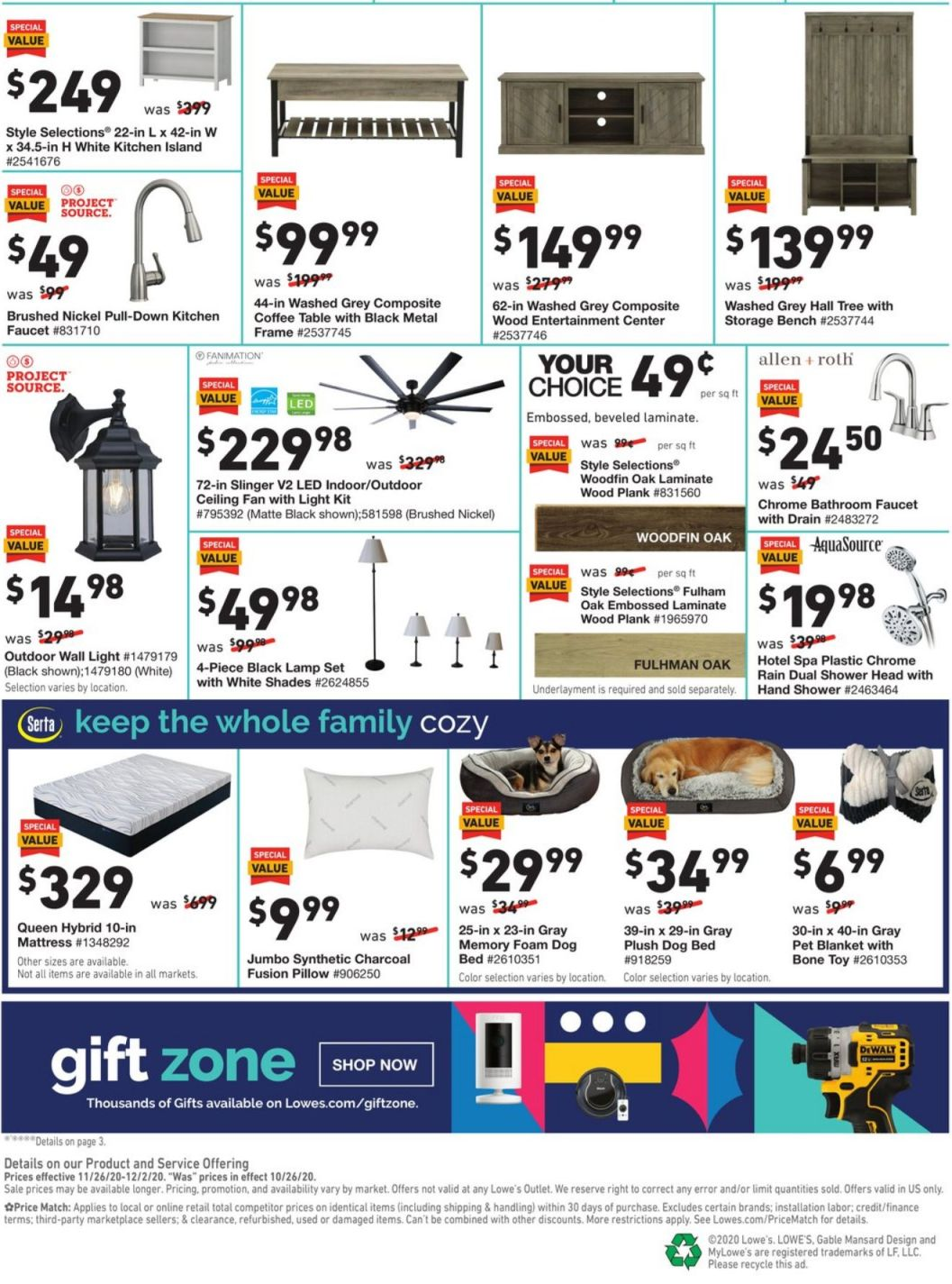 Lowe's Black Friday 2020 Page 4