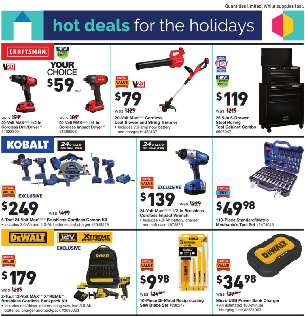 Lowe's Black Friday 2020 Page 5