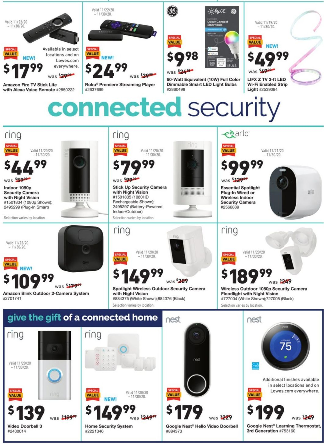 Lowe's Black Friday 2020 Page 12