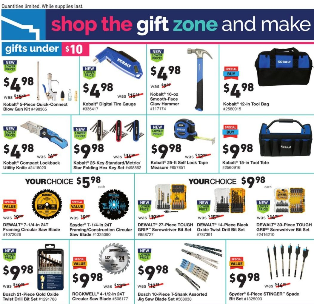 Lowe's Black Friday 2020 Page 15