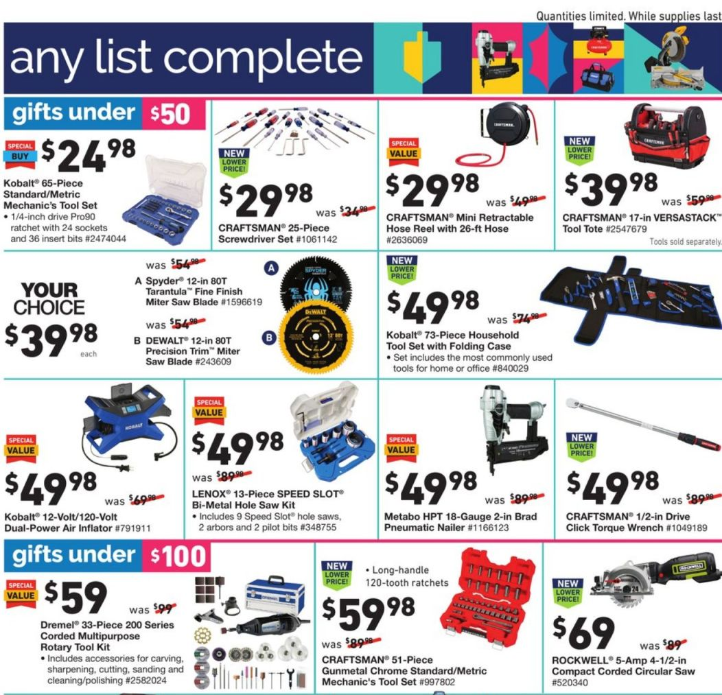 Lowe's Black Friday 2020 Page 17