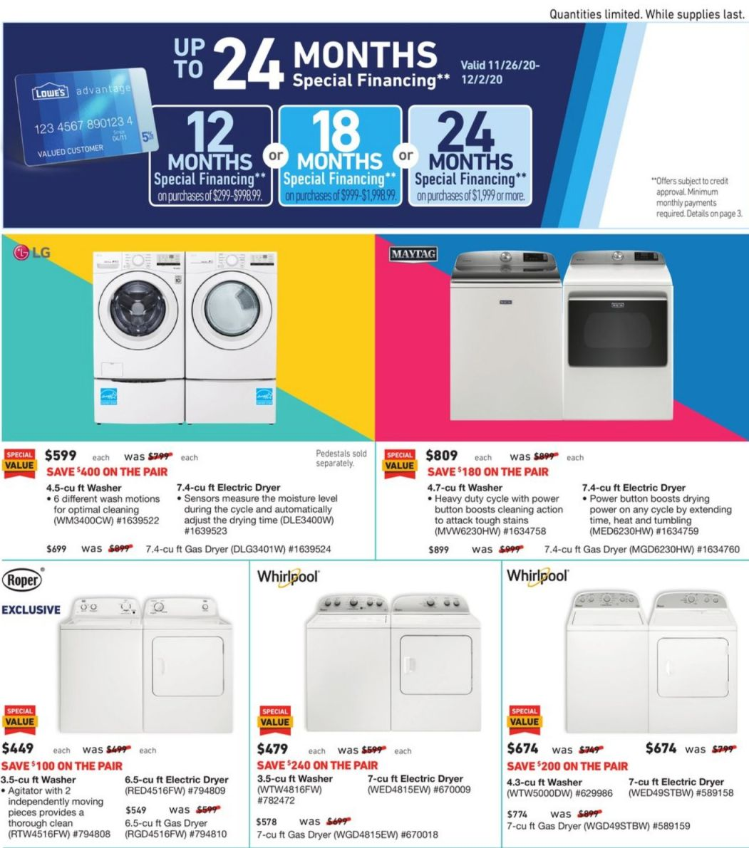 Lowe's Black Friday 2020 Page 25