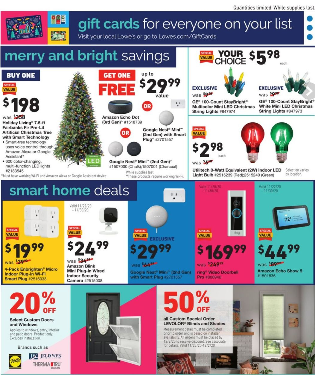 Lowe's Black Friday 2020 Page 27