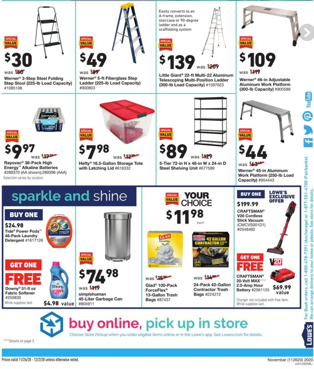 Lowe's Black Friday 2020 Page 28