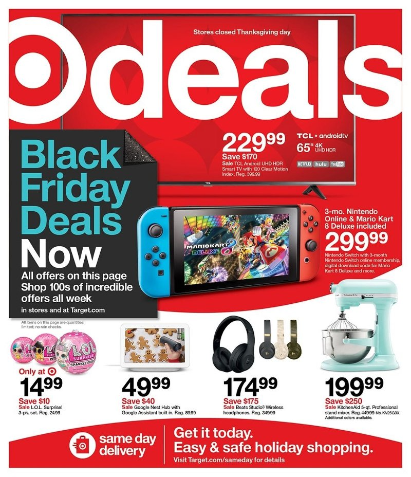 Target Black Friday 2020 Page 1