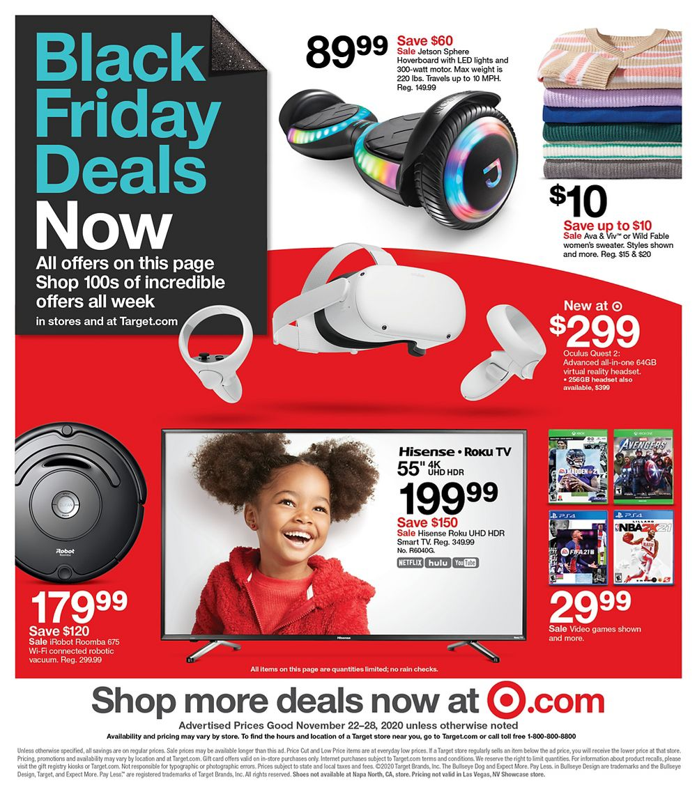 Target Black Friday 2020 Page 49