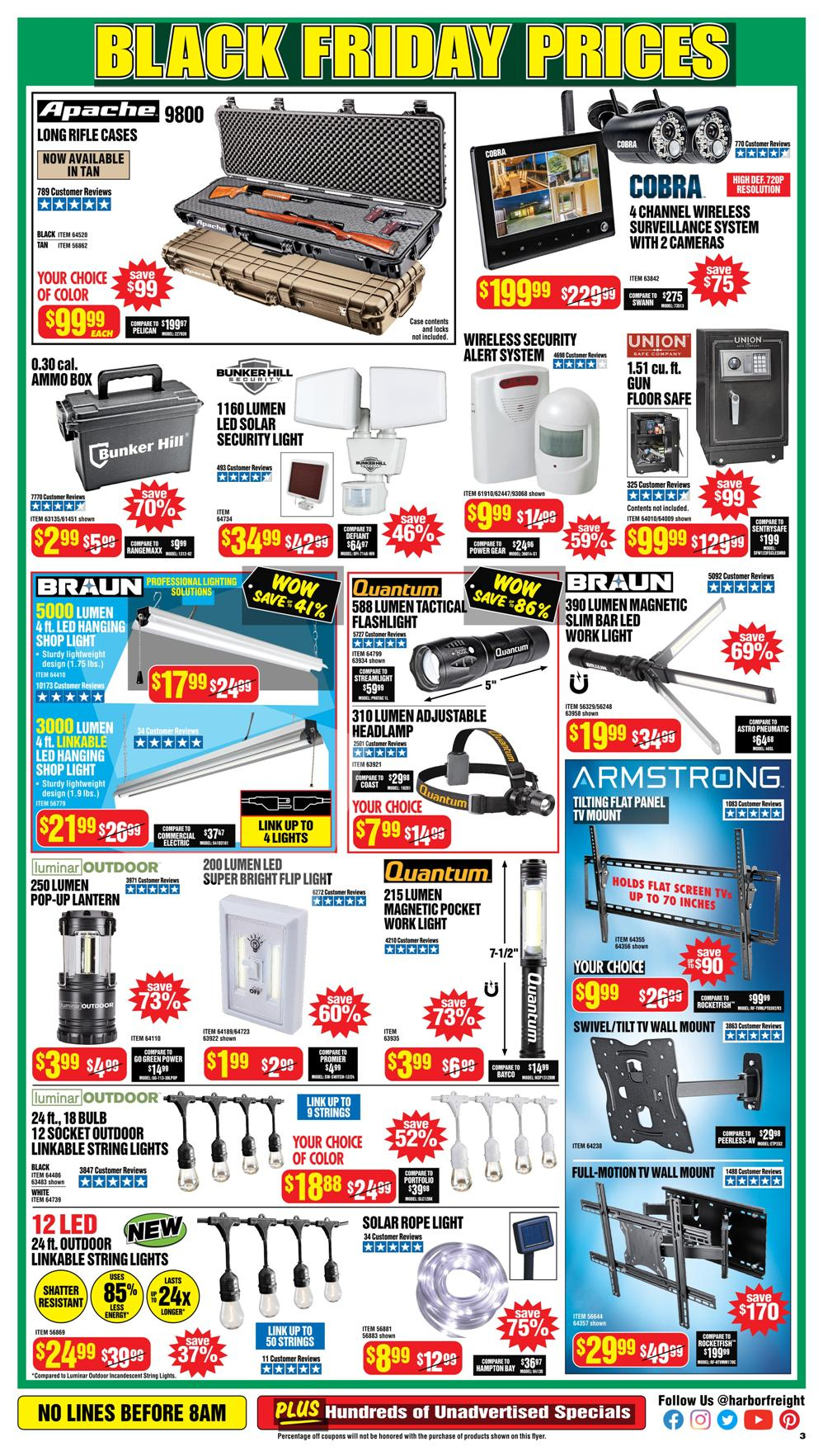 Harbor Freight Black Friday 2020 Page 3