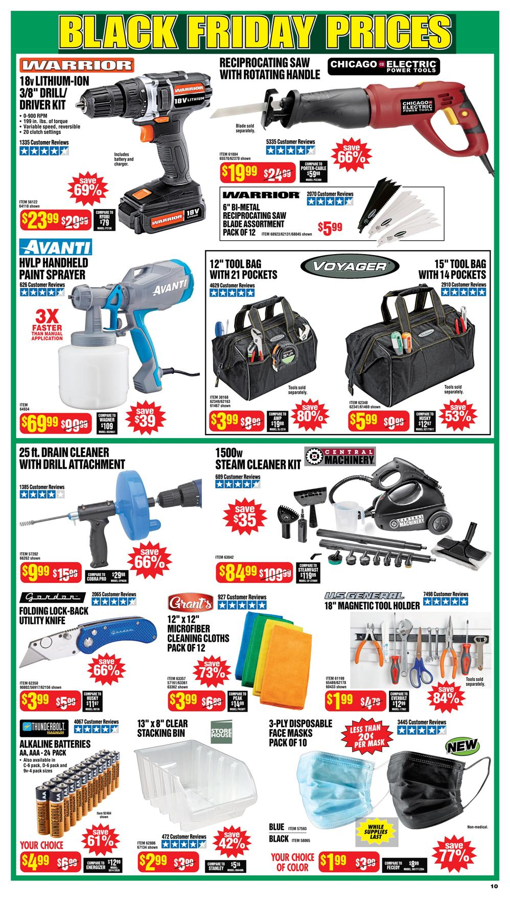 Harbor Freight Black Friday 2020 Page 10
