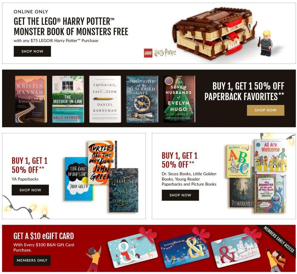 Barnes & Noble Black Friday 2020 Page 3
