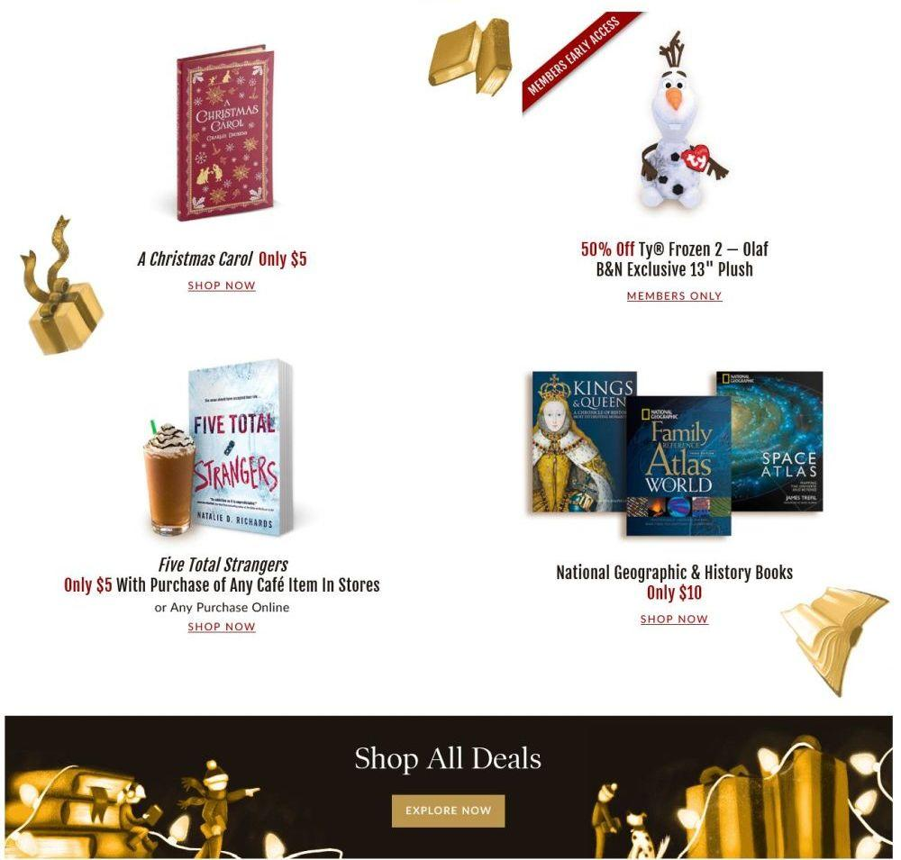 Barnes & Noble Black Friday 2020 Page 5