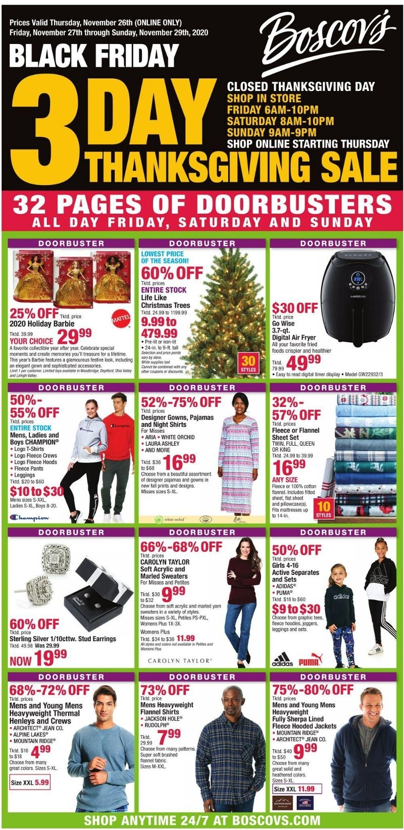 Boscov's Black Friday 2020 Page 1