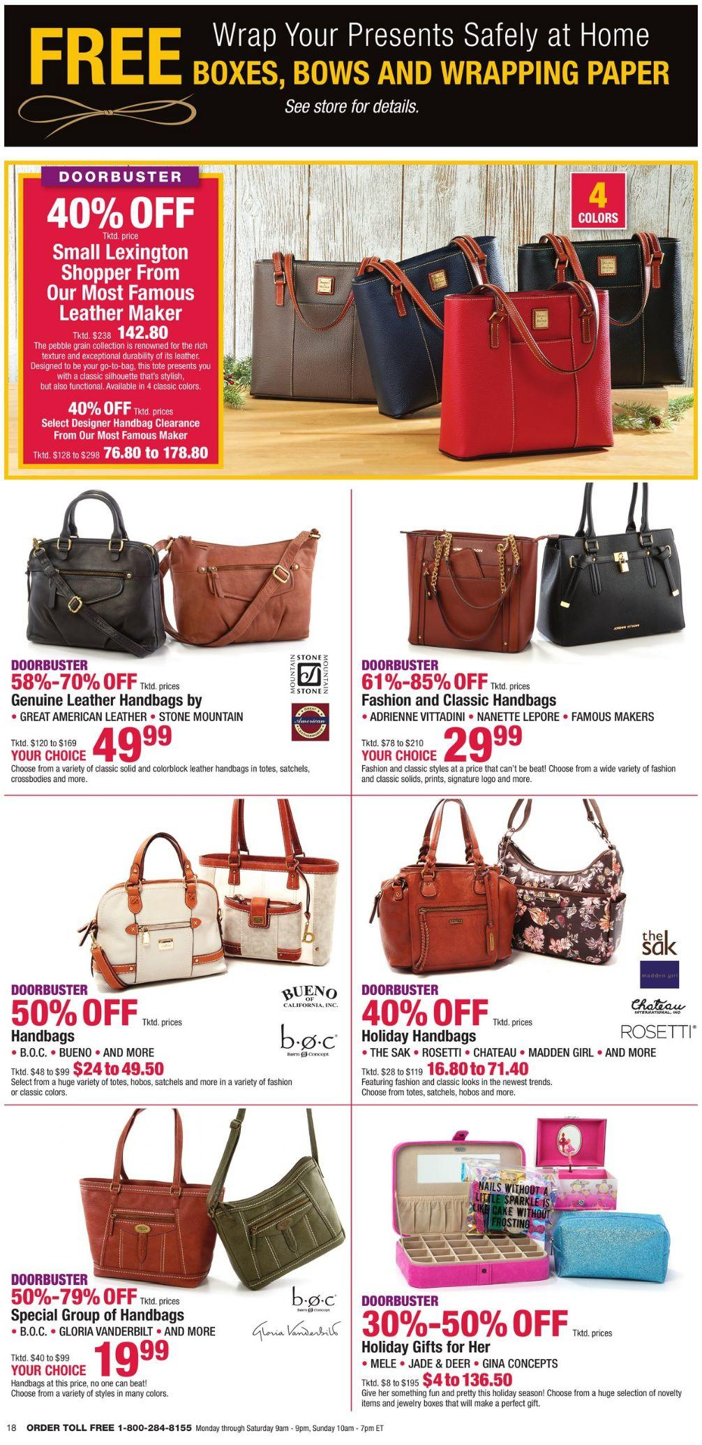Boscov's Black Friday 2020 Page 18