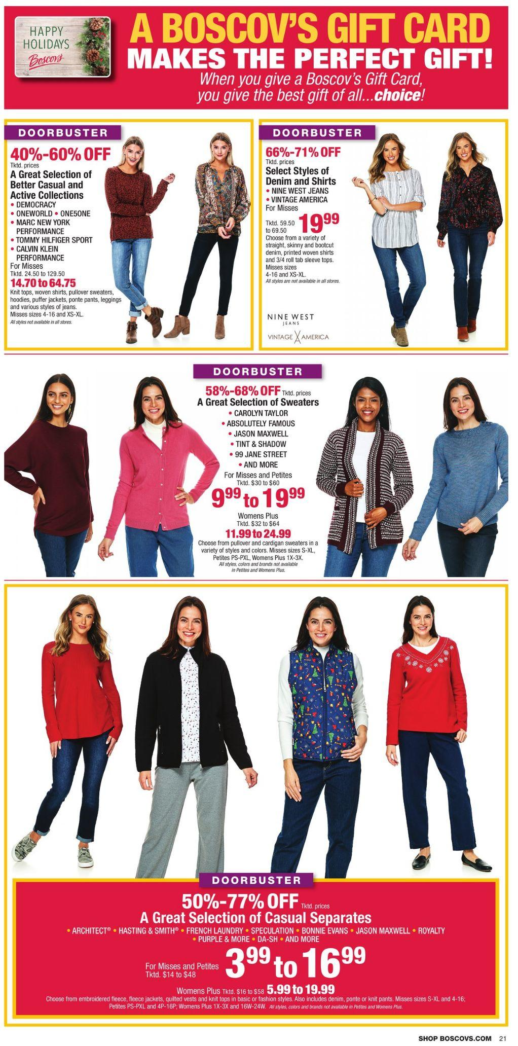 Boscov's Black Friday 2020 Page 21