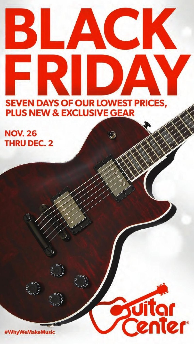 Guitar Center Black Friday 2020 Page 1