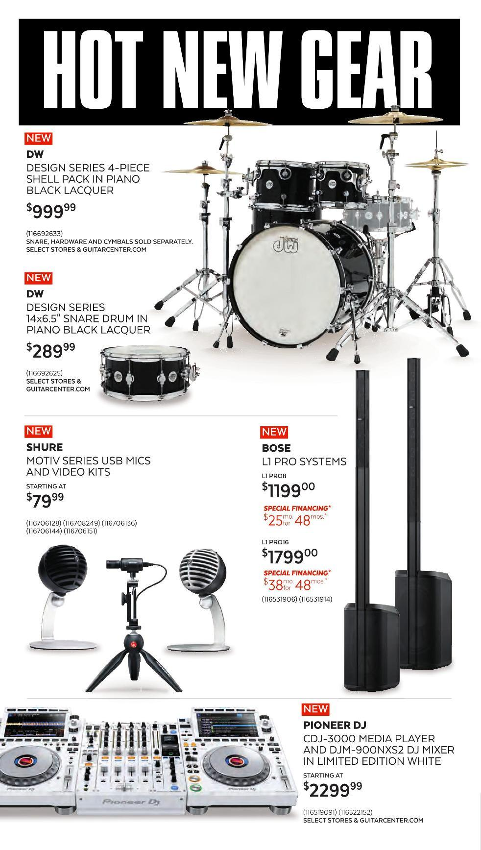 Guitar Center Black Friday 2020 Page 2
