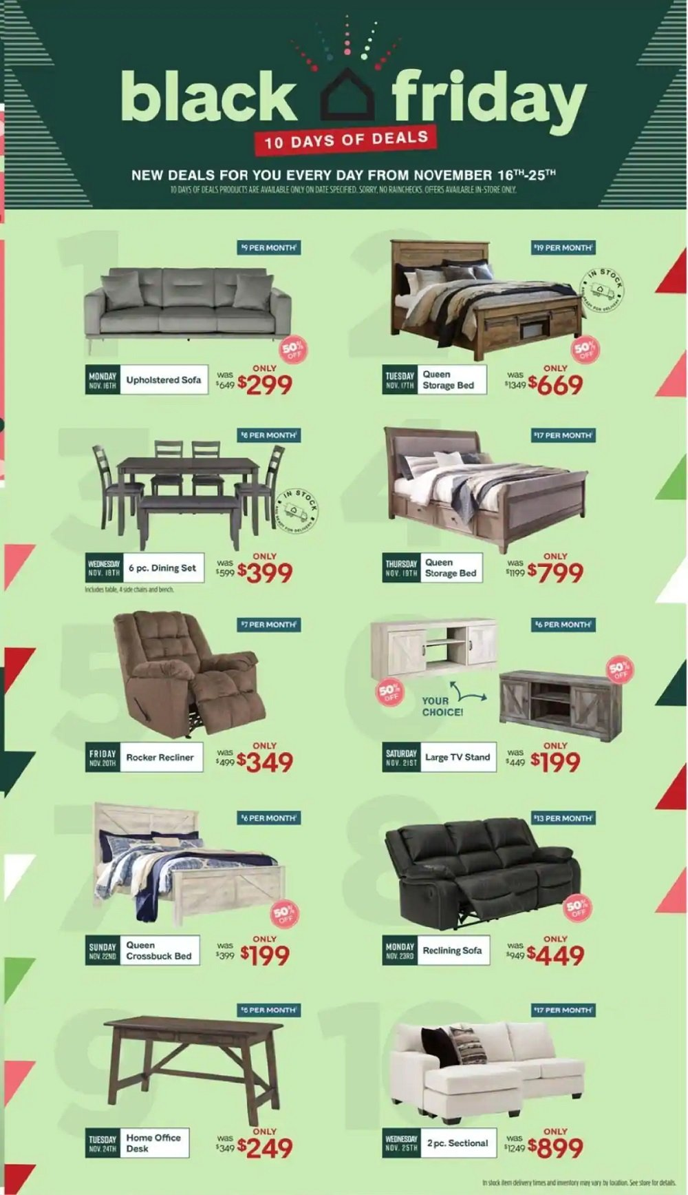 Ashley HomeStore Black Friday 2020 Page 2