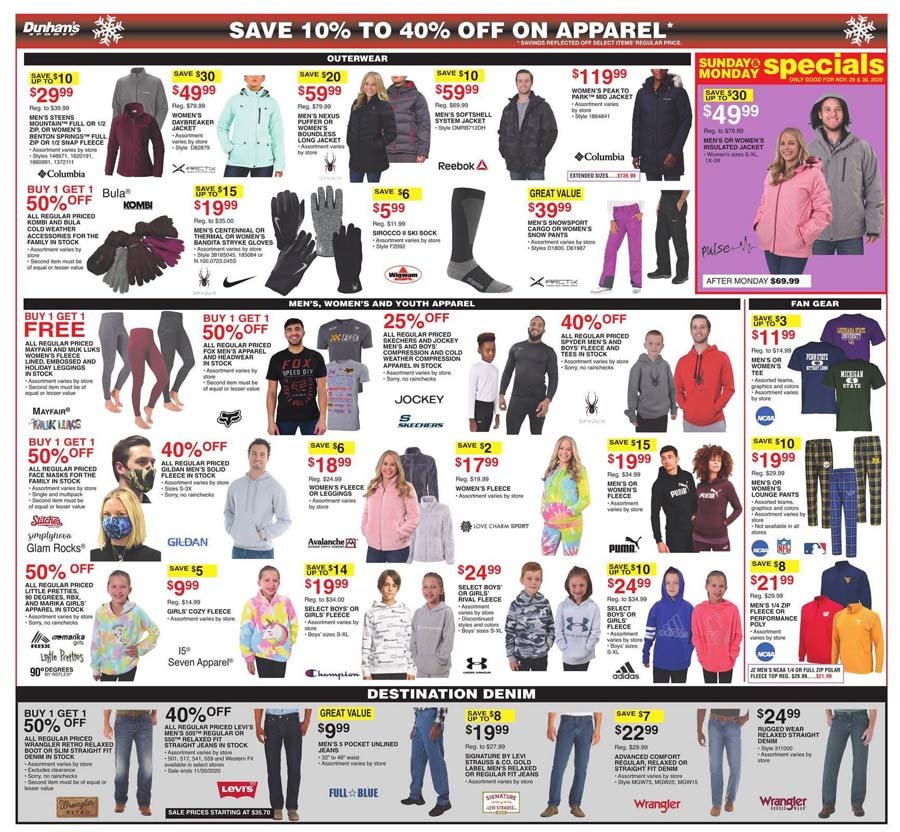 Dunham's Sports Cyber Monday 2020 Page 7