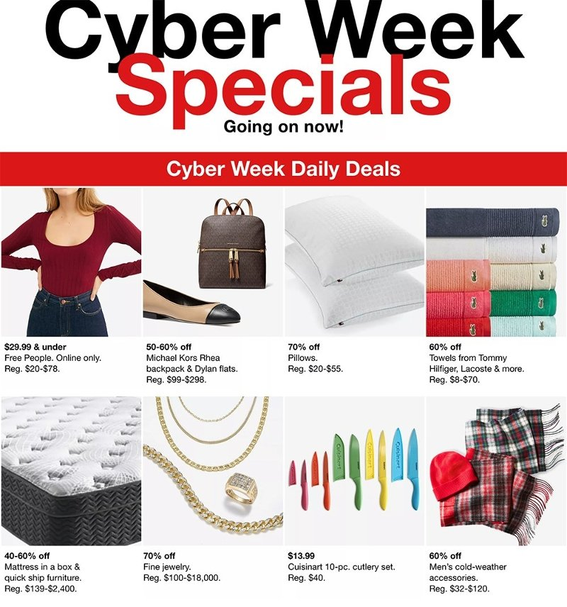 Macy's Cyber Monday 2020 Page 1