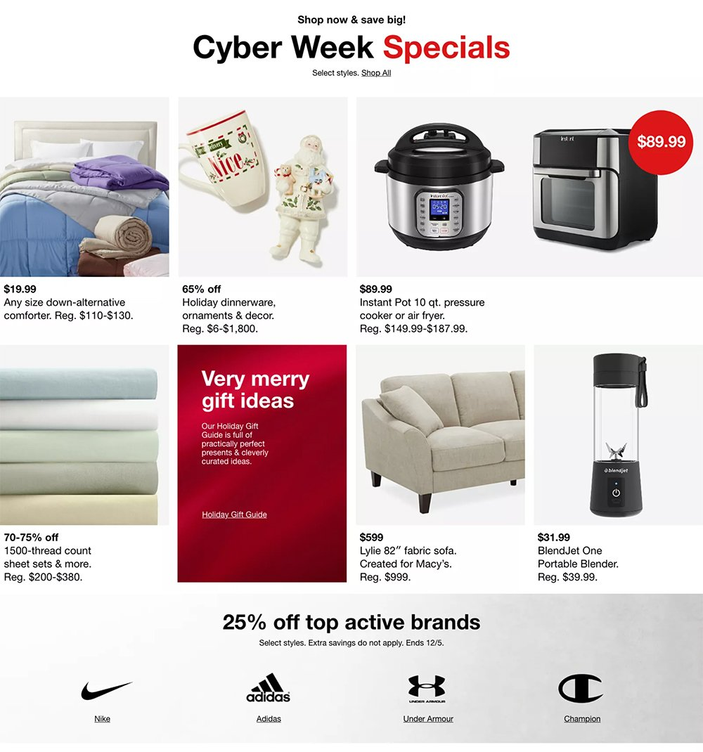 Macy's Cyber Monday 2020 Page 2
