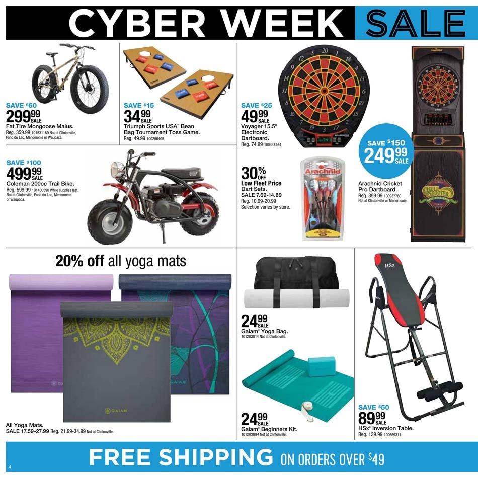 Fleet Farm Cyber Monday 2020 Page 4