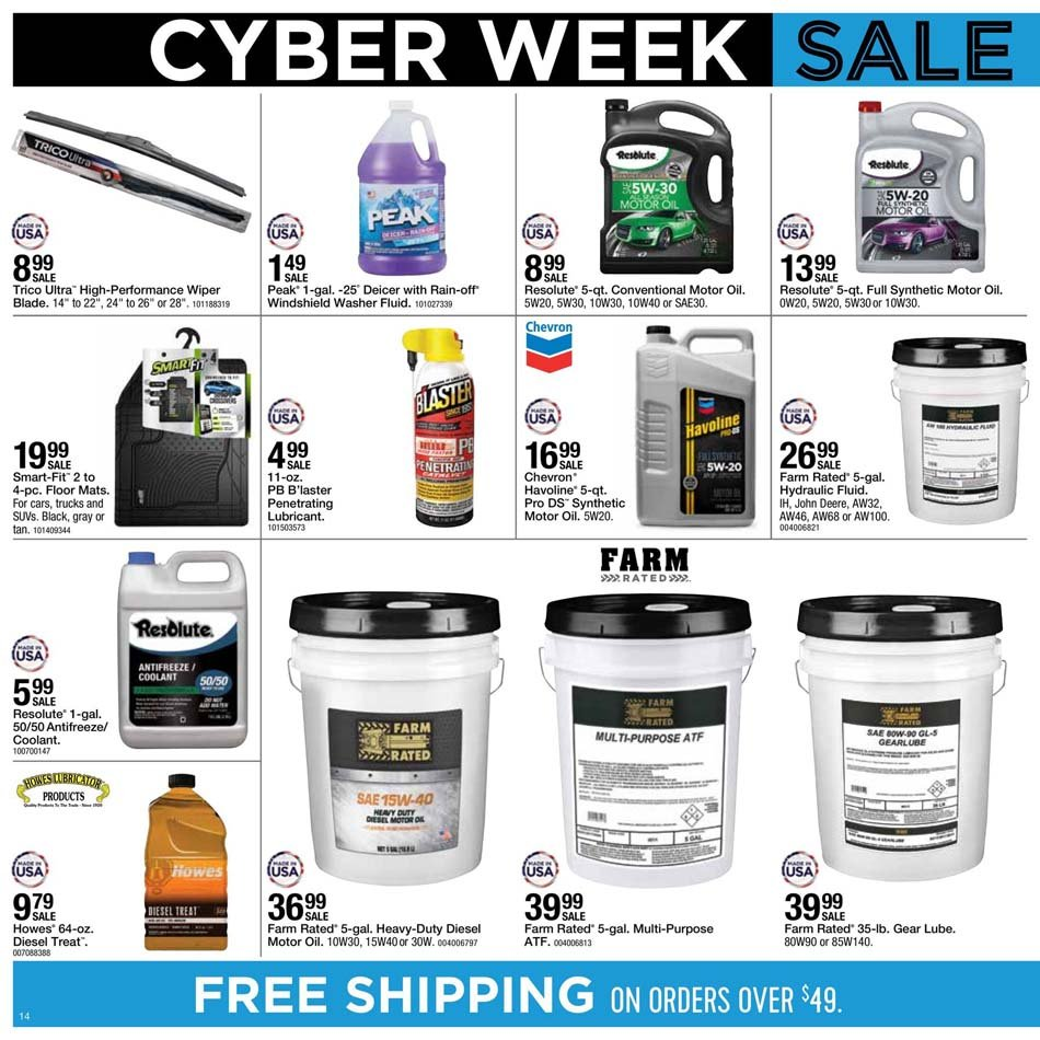 Fleet Farm Cyber Monday 2020 Page 14