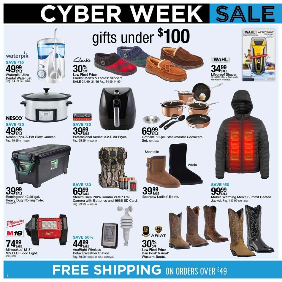 Fleet Farm Cyber Monday 2020 Page 18