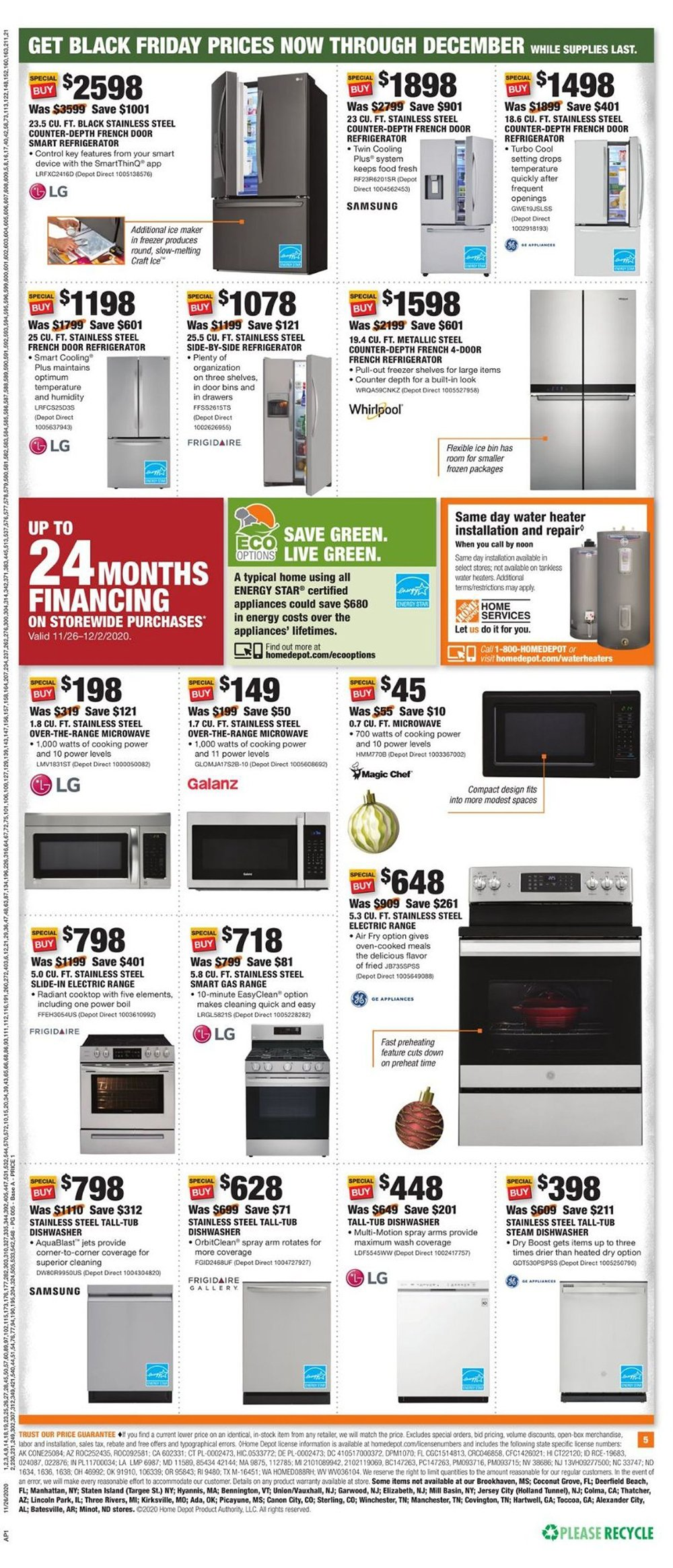 Home Depot Cyber Monday 2020 Page 7