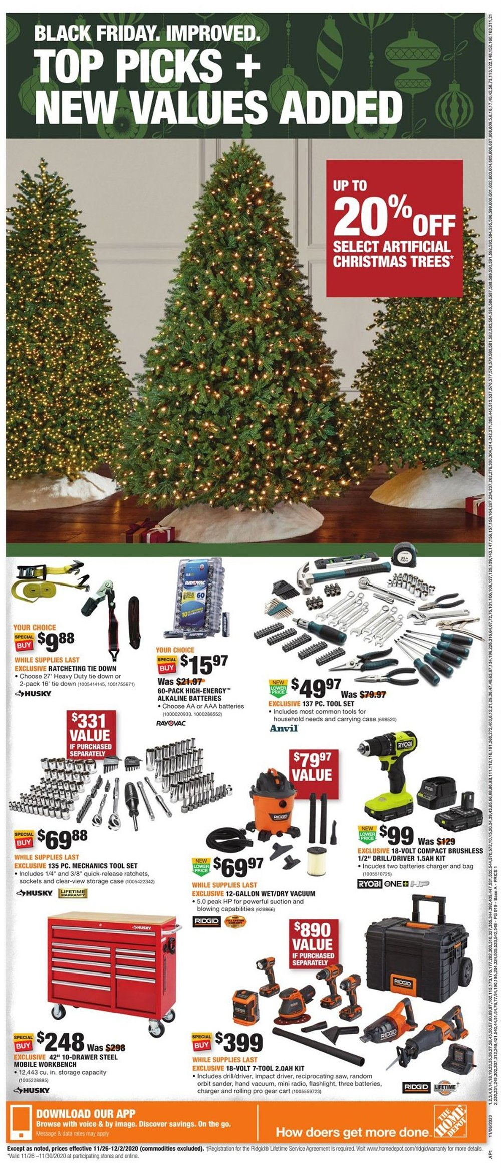 Home Depot Cyber Monday 2020 Page 13