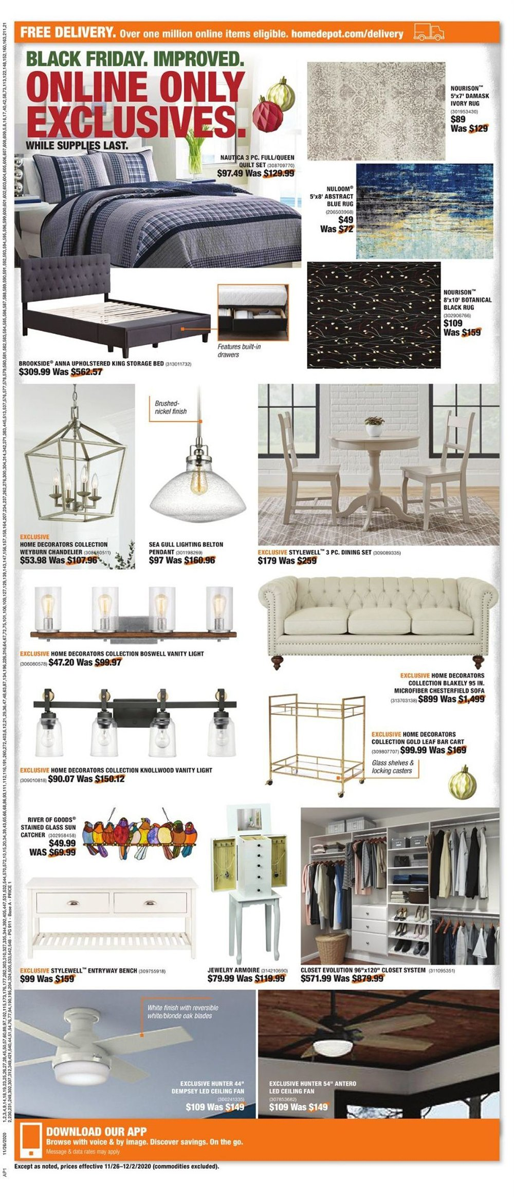 Home Depot Cyber Monday 2020 Page 2